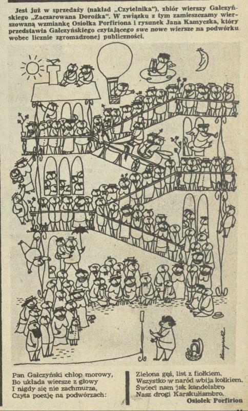 Zaczarowana Dorożka 16 April 1948 Archiwum Przekrój