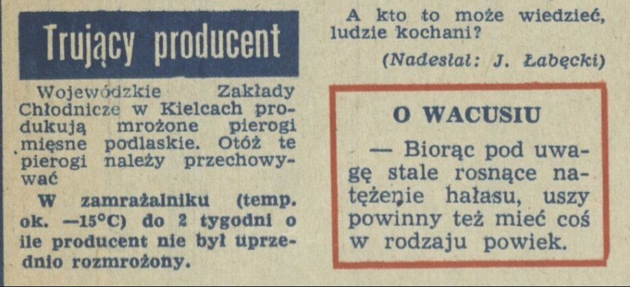 Trujący producent