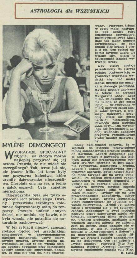 Mylène Demongeot