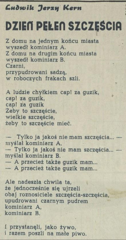 Ludwik Jerzy Kern Archiwum Kwartalnik Przekrój