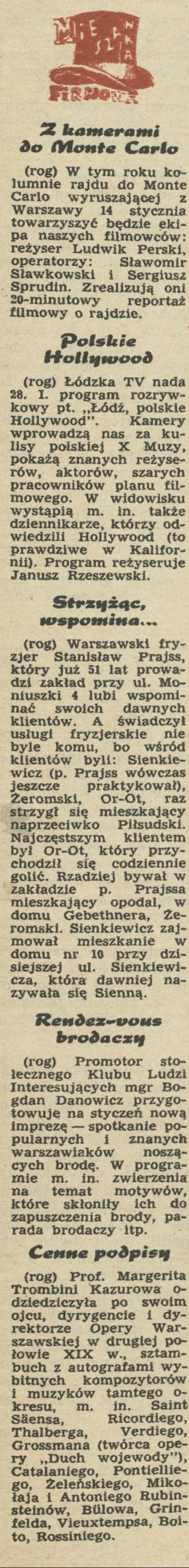 Treści z Archiwum - Kwartalnik Przekrój