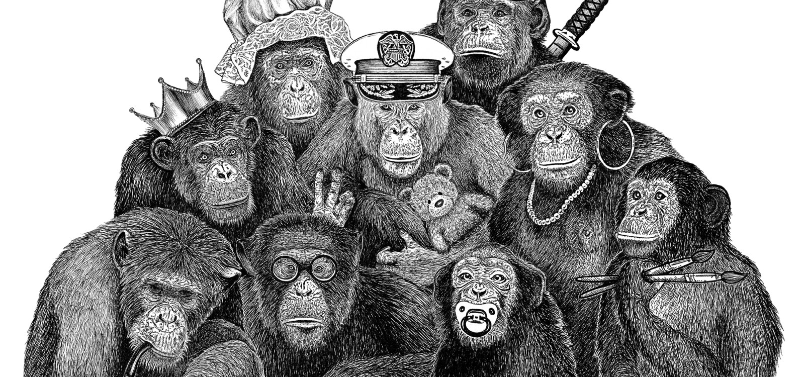The Rise and Fall of a Chimpanzee Matriarchy - Przekrój Magazine