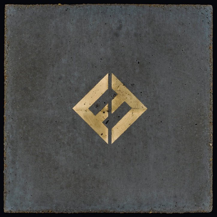 "Foo Fighters, okładka albumu ""Concrete and Gold"""