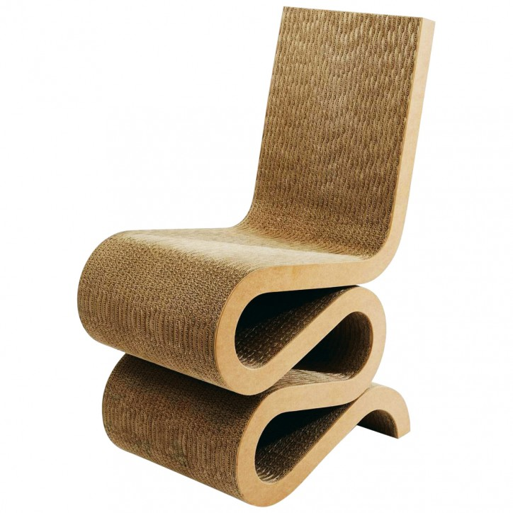 Frank Gehry, Wiggle Chair, 1972 r.