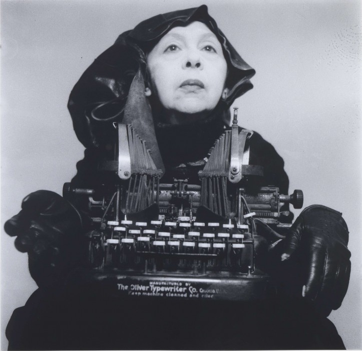 """Ms Oliver in Her Travelling Clothes"", 1980. Geta Brătescu, photographed by her husband, Mihai; photo: Mihai Brătescu, Ivan Gallery and Hauser & Wirth"