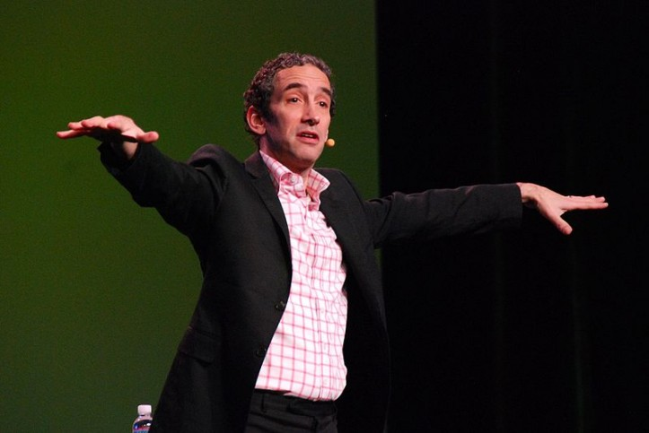 Douglas Rushkoff, zdjęcie: Paul May/FRONT (CC BY 2.0)