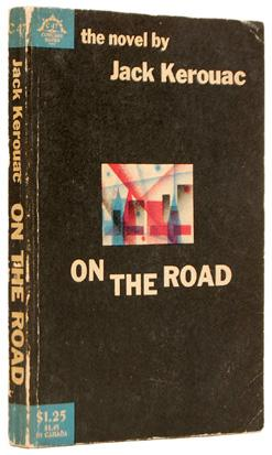 Okładka książki On the Road, Jack Kerouac, Fair use