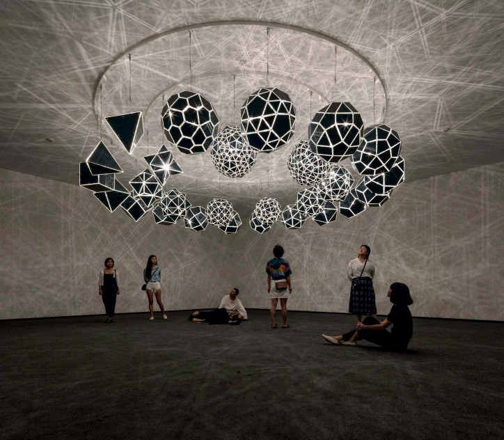 """Your sound galaxy"", Red Brick Art Museum, Pekin, 2012; zdjęcie: Anders Sune Berg; © 2003 Olafur Eliasson"