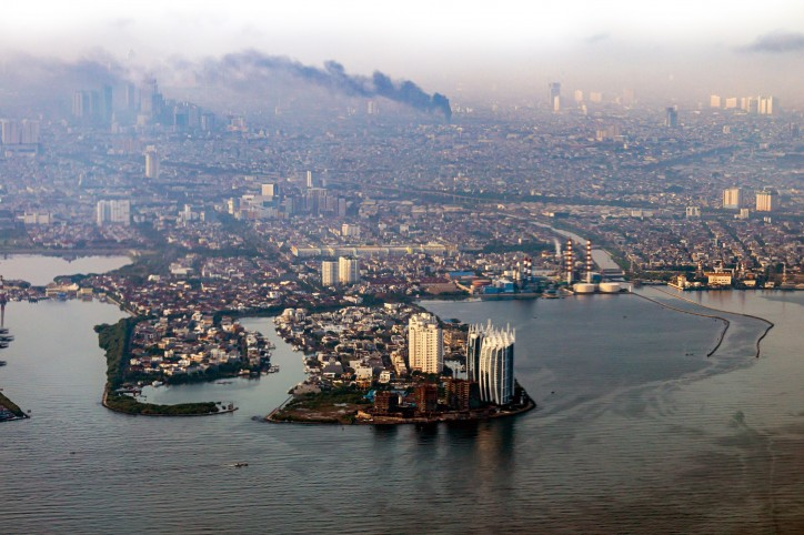 Jakarta is the fastest-drowning city today. Photo: Adobe Stock