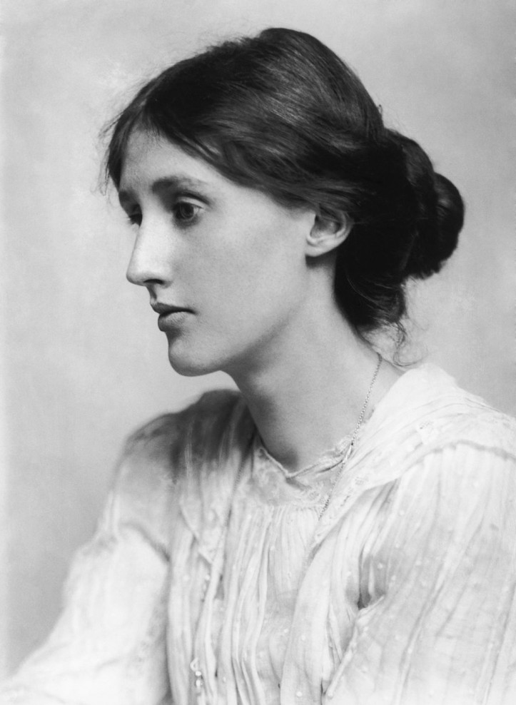 Portrait of Virginia Woolf, 1882. Photo by George Charles Beresford (public domain)