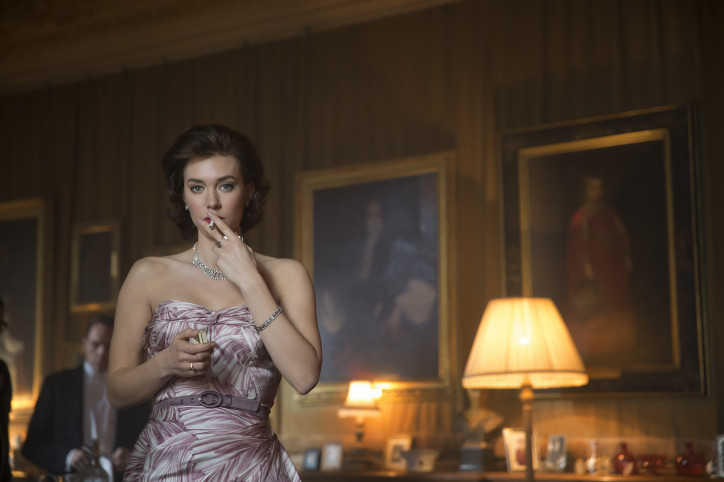 "Vanessa Kirby w serialu ""The Crown""/ zdjęcie  PHOTO CREDIT Stuart Hendry/Netflix"