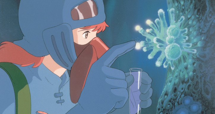 """Nausicaä of the Valley of the Wind"" (1984). © 1984 Studio Ghibli – H / Gkids"