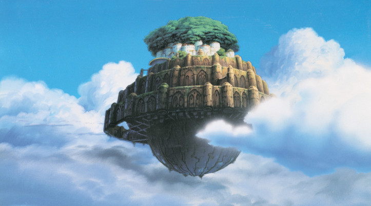 """Castle in the Sky"" (1986). © 1986 Studio Ghibli / Gkids"