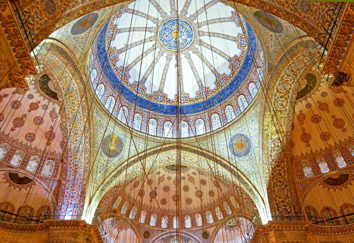 The Blue Mosque, Istanbul. Photo by Dennis Jarvis/Flickr (CC BY-SA 2.0)