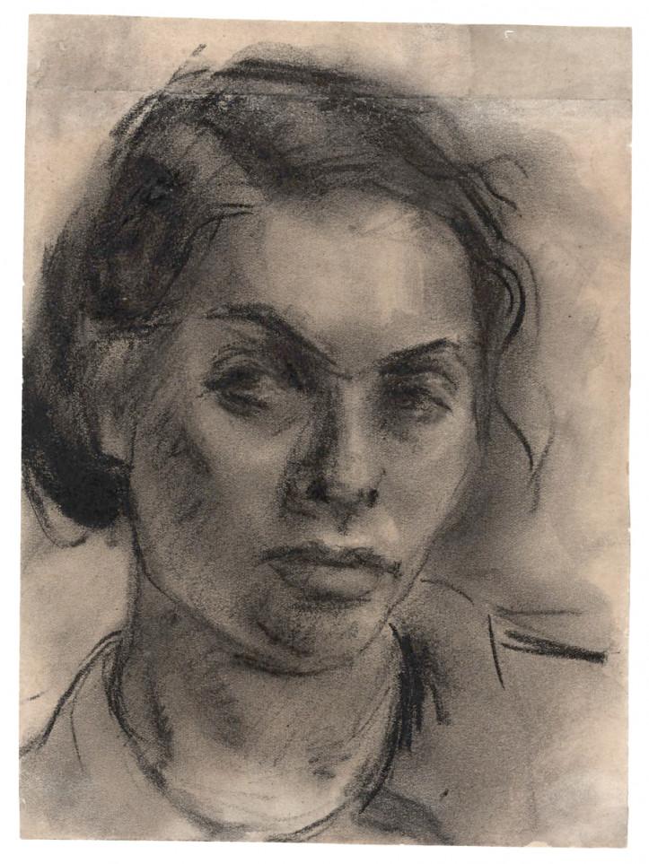 """Gela Seksztajn """"Autoportret"""""""