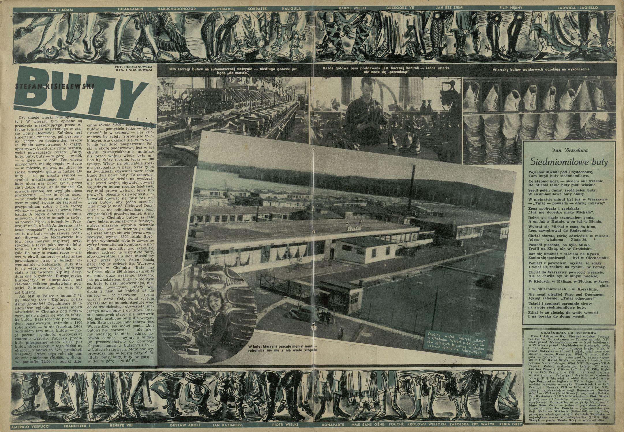 Siedmiomilowe Buty 27 Stycznia 1946 Archiwum