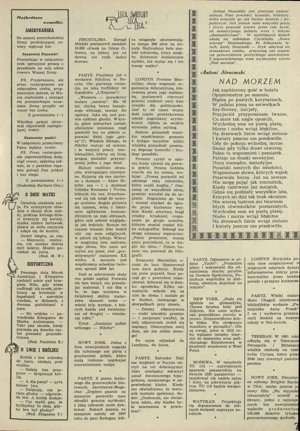Lecą świetliki 10 May 1959 Archiwum Przekrój Magazine