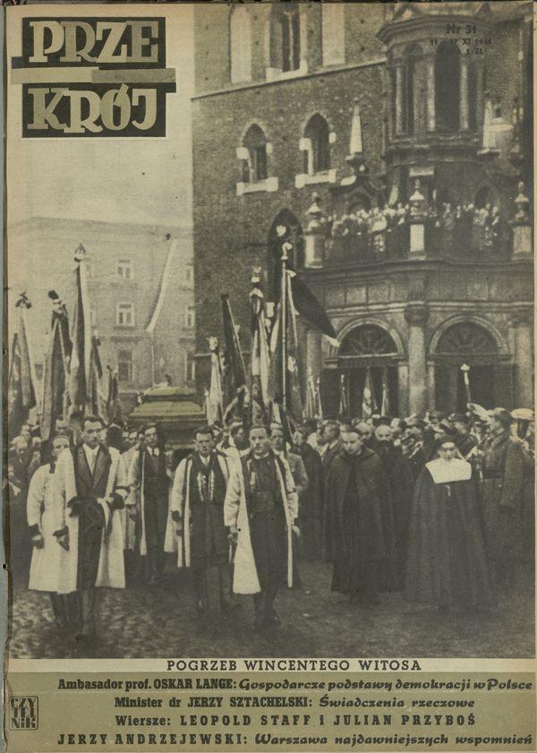 Numer 31 11 Listopada 1945 Str 1 Archiwum Kwartalnik