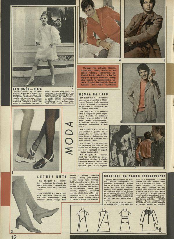 Numer 1159 (25 June 1967), str  12–13 — Archiwum - Przekrój