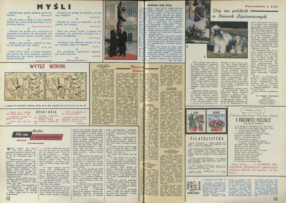 Numer 2450 (7 June 1992), str  12–13 — Archiwum - Przekrój Magazine