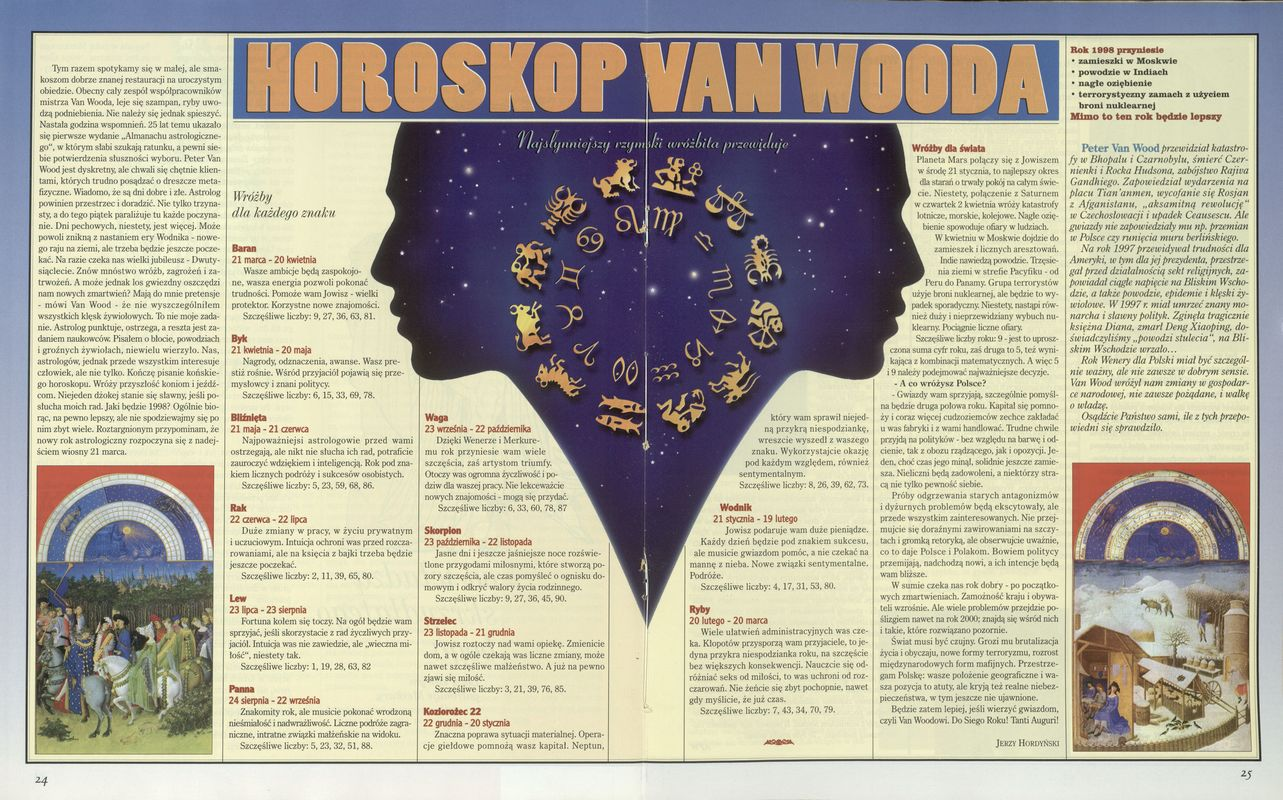 Horoskop Van Wooda