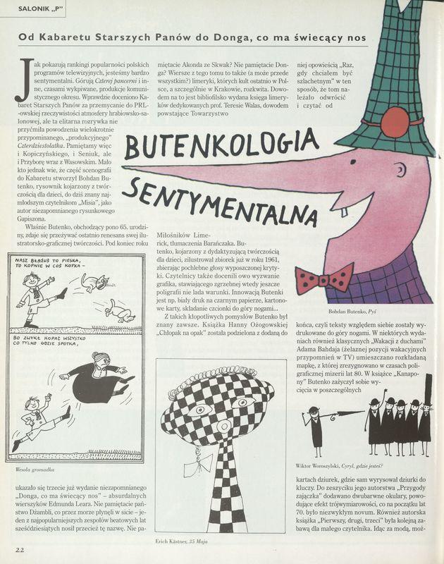 Numer 2867 4 June 2000 Str 2223 Archiwum Przekrój