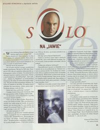 "Solo na ""Jawie"""